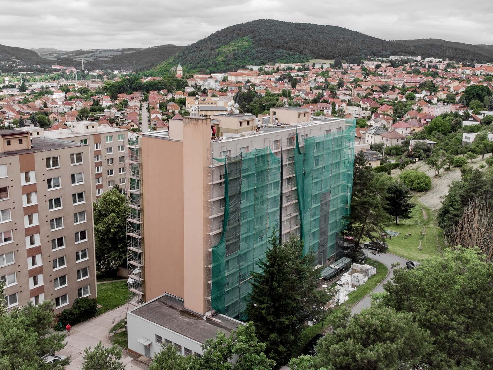 Rekonstrukce bytového domu - Tišnov