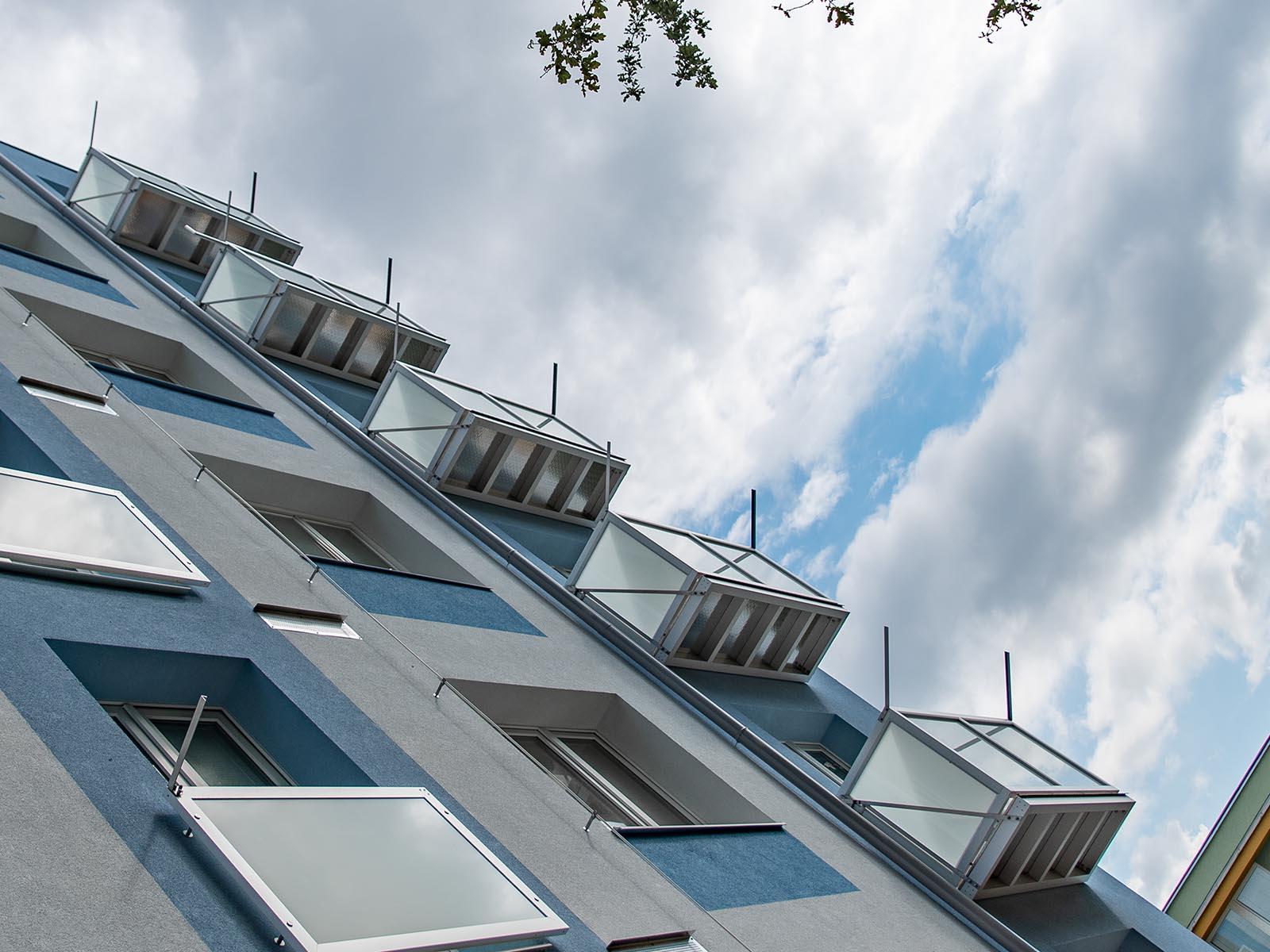 montáž závěsných balkonů Olomouc