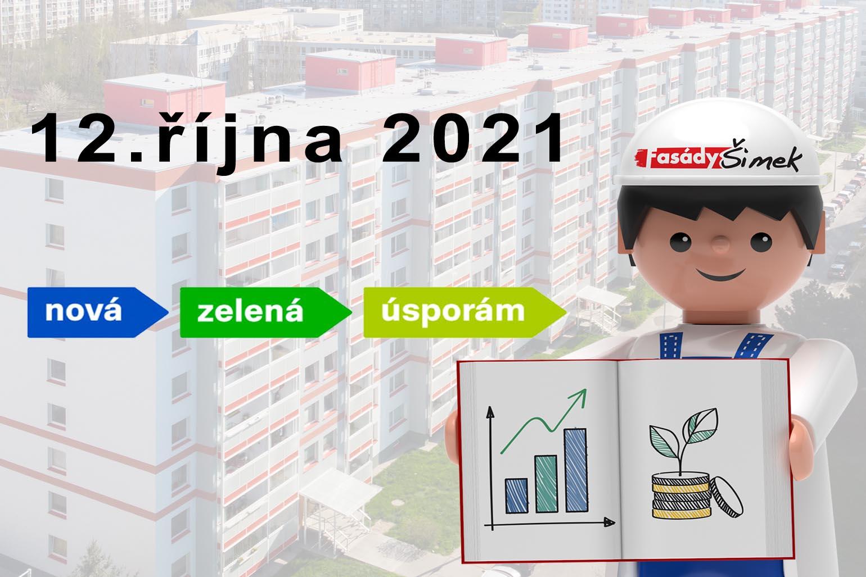 Nová zelená úsporám startuje
